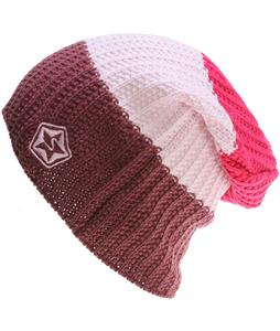 Sessions Scout Stripe Beanie Mauve