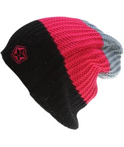 Sessions Scout Stripe Beanie Pink