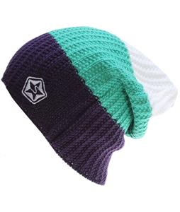 Sessions Scout Stripe Beanie Purple