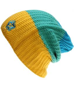 Sessions Scout Stripe Beanie Yellow
