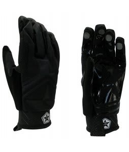 Sessions Shiner Pipe Gloves Black Magic