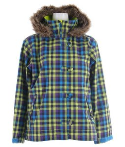 Sessions Spinner Snowboard Jacket Grape VI Plaid