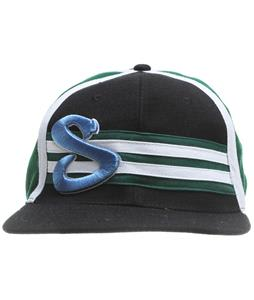 Sessions Stripie Hat Black