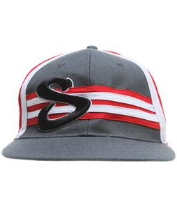 Sessions Stripie Hat Heavy Grey