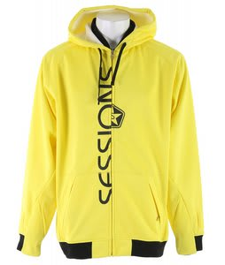 Sessions Suburban Softshell Snowboard Jacket Citron