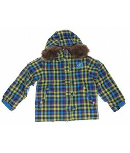 Sessions Sweetie Snowboard Jacket Grape Vi Plaid