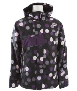 Sessions Swift Dots Snowboard Jacket Purple Dots 
