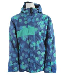Sessions Swift Dots Snowboard Jacket Blue Dots