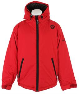 Sessions Switch Snowboard Jacket Red