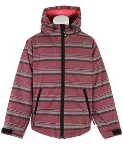 Sessions Switch Stripe Snowboard Jacket Pink Heather Stripe