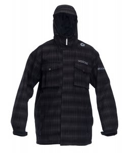 Sessions Team Jacket Black Plaid