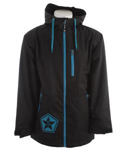 Sessions Tech Star Snowboard Jacket Black