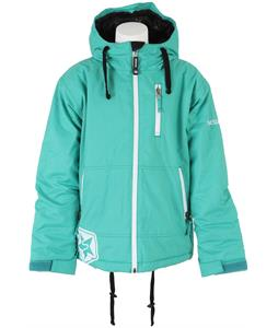 Sessions Techy Snowboard Jacket Teal