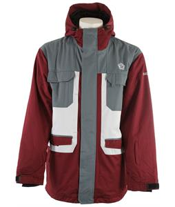 Sessions Traveller Snowboard Jacket Dark Red