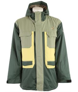 Sessions Traveller Snowboard Jacket Forest