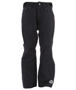 Sessions Trend Denim Snowboard Pants Indigo 