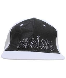 Sessions Tri-Tip Hat White