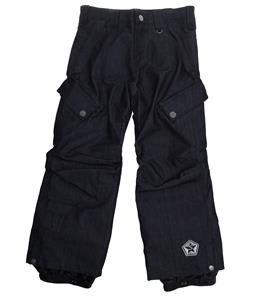 Sessions Trooper Denim Snowboard Pants Denim