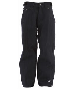 Sessions True Denim Snowboard Pants Indigo 
