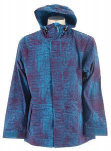 Sessions Truth Snowboard Jacket Grape Scratch