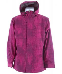 Sessions Truth Snowboard Jacket Plum Scratch
