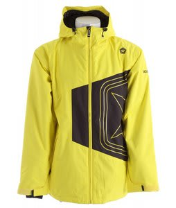Sessions Truth Snowboard Jacket Yellow