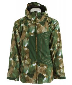 Sessions Truth Camo Snowboard Jacket Camo Water