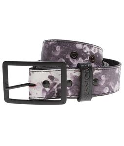 Sessions Waxed Belt Black Splat