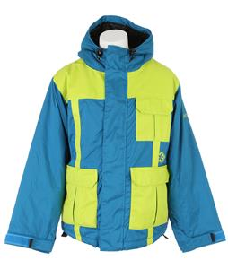 Sessions Wheelie Snowboard Jacket Blue