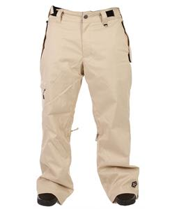 Sessions Worker Slub Snowboard Pants Khaki