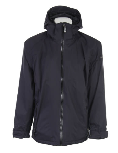 Sessions Work Snowboard Jacket Black Magic