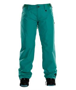 Sessions Zero Insulated Snowboard Pants Teal