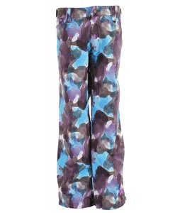 Sessions Zero Watercolor Snowboard Pants Purple Water