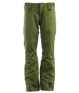 Sessions Brawl Snowboard Pants Olive