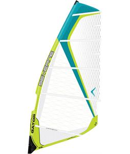 Severne Gator Windsurf Sail Green/Turquoise 7.5