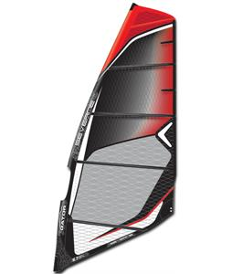 Severne Gator Windsurf Sail Black/Red 7.5