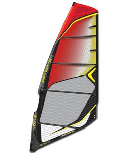 Severne Gator Windsurf Sail Black/Yellow 6.5