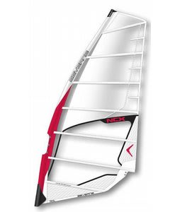 Severne NCX Windsurf Sail 6.0 White/Red