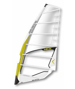 Severne NCX Windsurf Sail 6.0 White/Yellow