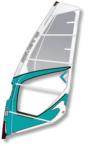 Shop for Severne S1 Windsurf Sail 5.6 White/Blue