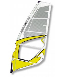 Severne S1 Windsurf Sail 5.6 White/Yellow