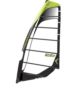 Severne Turbo Windsurf Sail 6.5 Black/Green