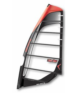 Severne Turbo Windsurf Sail 7.5 Black/Orange