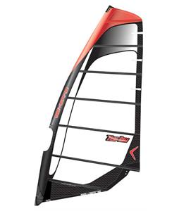 Severne Turbo Windsurf Sail 6.5 Black/Red