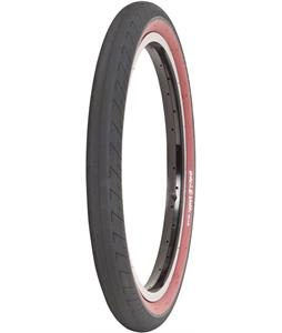 The Shadow Conspiracy Strada BMX Tire Black/Red Siewall 20 x 2.3in
