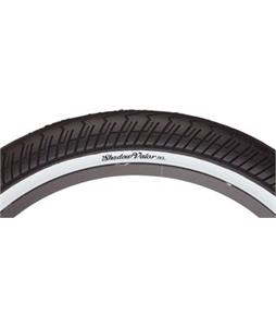 The Shadow Conspiracy Valor White Sidewall BMX Tire 20 x 2.4in