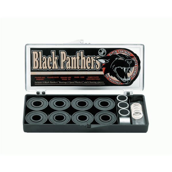 Shortys Black Panther Abec 3 Bearings