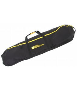 Sierra Logo Snowboard Bag Black/Yellow 166