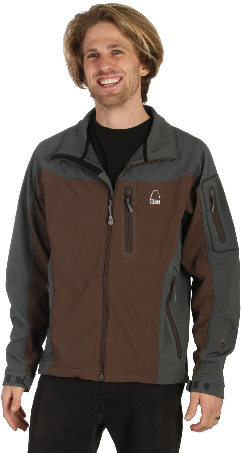 Shop for Sierra Designs Lunatic Shell Jacket Espresso - Men's