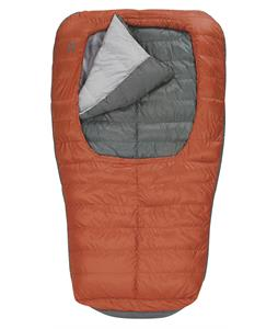 Sierra Designs Backcountry Bed Duo 600 2 Season Sleeping Bag Red Clay/Smoked Pearl